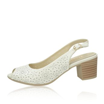 bb4f5187e6 Robel dámske kožené sandále - béžové