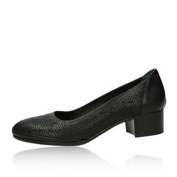 Robel dámske pohodlné lodičky - čierne