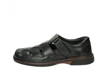 Robel pánske sandále - čierne