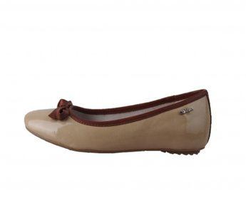 s.oliver dámske balerínky - béžové