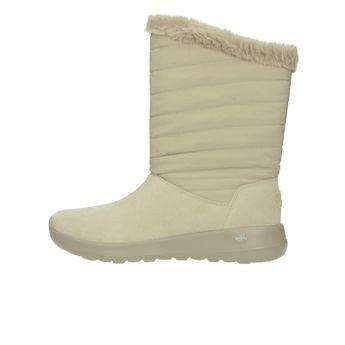 Skechers dámske nízke zateplené čižmy - béžové 3ce556c076e