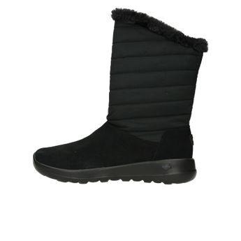 Skechers dámske nízke zateplené čižmy - čierne 726e5910e9b