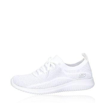 Skechers dámske pohodlné tenisky - biele