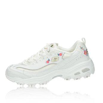 Skechers dámske štýlové tenisky - biele