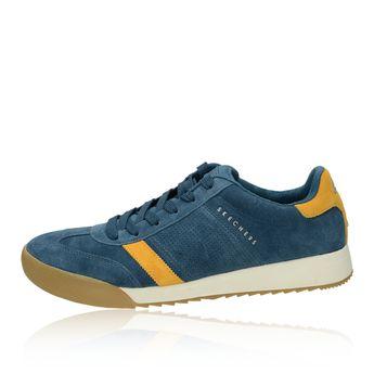 Skechers pánske semišové štýlové tenisky - modré
