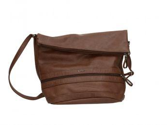 Tamaris dámska kabelka - hnedá