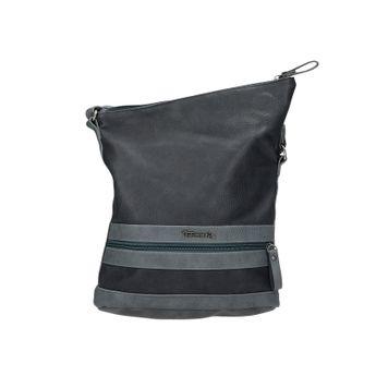 Tamaris dámska štýlová kabelka - tmavomodrá