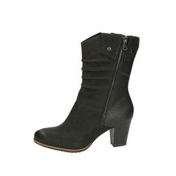 Tamaris dámske čižmy - čierne