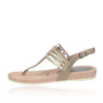 Tamaris dámske elegantné sandále - ružové