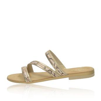 55d22aec95b0 Tamaris dámske elegantné sandále s ozdobnými kamienkami - strieborné