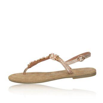 3361f2afa56c Tamaris dámske elegantné sandále s ozdobnými prvkami - ružové