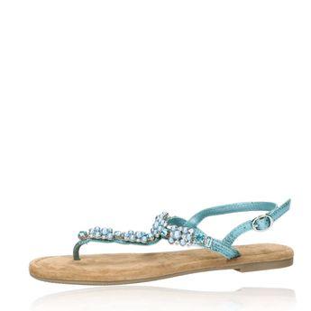 ac3380c55256 Tamaris dámske elegantné sandále s ozdobnými prvkami - zelené