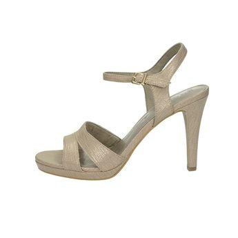 4b337bc016f1 Tamaris dámske elegantné sandále s remienkom - zlaté