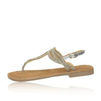 0c694992d Tamaris dámske elegantné sandále - strieborné