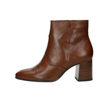 Tamaris dámske kožené kotníky - hnedé