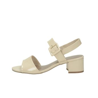 1a887cdbd45b Tamaris dámske lakované sandále - béžové Tamaris dámske lakované sandále -  béžové