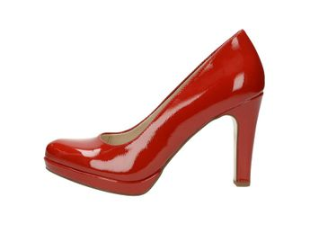 79ac03b727 Tamaris dámske lodičky - červené