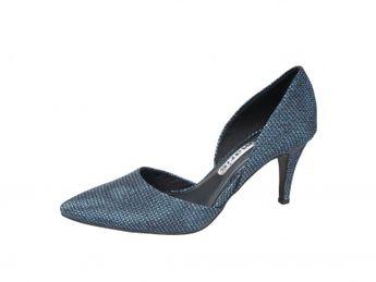 Tamaris dámske lodičky - modré 0d9ca576081