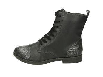 5322065af9ff Tamaris dámske nízke čižmy - čierne