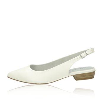 71aee85f09 Tamaris dámske pohodlné sandále - biele