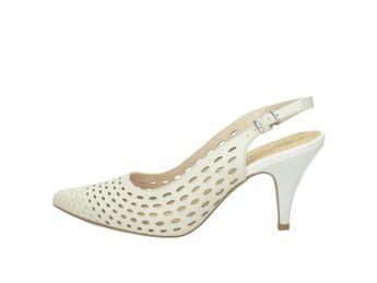 139269c705 Tamaris dámske sandále - biele