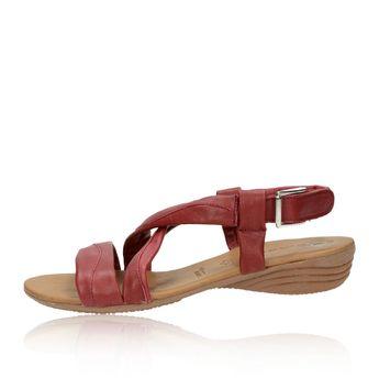 Tamaris dámske sandále - bordové