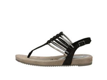 Tamaris dámske sandále - čierne 2c26070dbb0