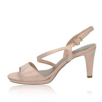 66c90975fa14 Tamaris dámske sandále s remienkom - ružové
