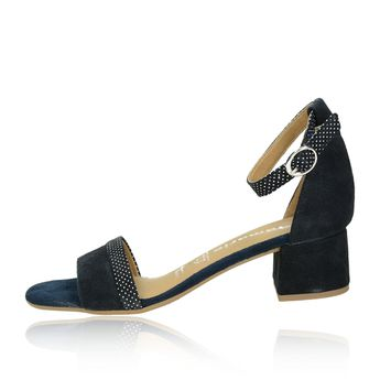 d580c209dcd5 Tamaris dámske semišové sandále - tmavomodré