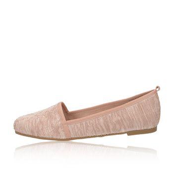Tamaris dámske štýlové balerínky - ružové