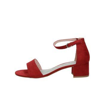 88e305bb944b Tamaris dámske štýlové sandále - bordové
