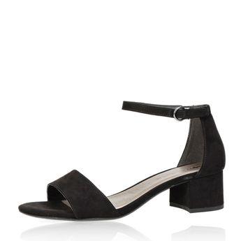 ed49379fa71f Tamaris dámske štýlové sandále na suchý zips - čierne