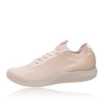 Tamaris dámske štýlové textilné tenisky - ružové 4a2d7e62cf6