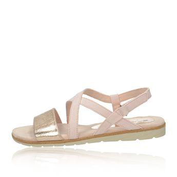 a1955844d754 Tamaris dámske textilné sandále - ružové Tamaris dámske textilné sandále -  ružové