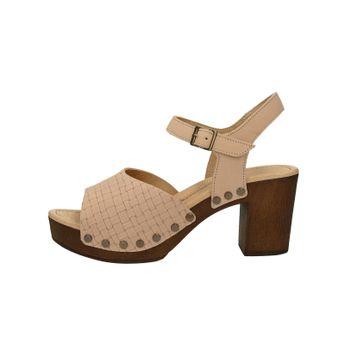 Ten Points dámske kožené sandále - ružové