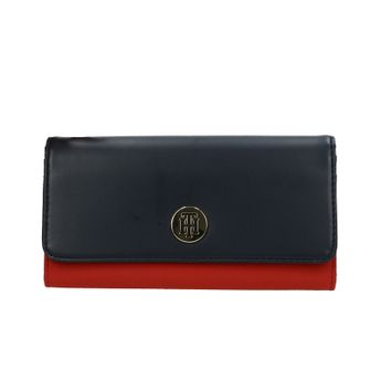 fb1bc0514c16 Tommy Hilfiger dámska peňaženka - červenomodrá