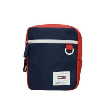 Tommy Hilfiger dámska štýlová crossbody kabelka - modročervená