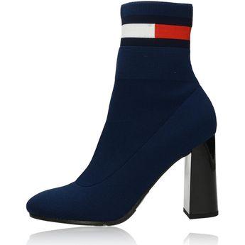 Tommy Hilfiger dámske štýlové kotníky - modré