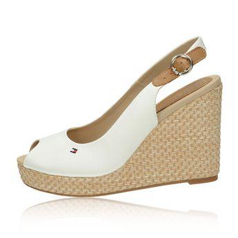 34663cbc3d Tommy Hilfiger dámske štýlové sandále - biele