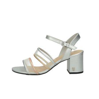 Tommy Hilfiger dámske štýlové sandále s remienkom - strieborné
