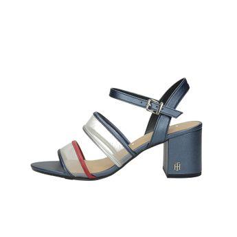 Tommy Hilfiger dámské štýlové sandále s remienkom - tmavomodré