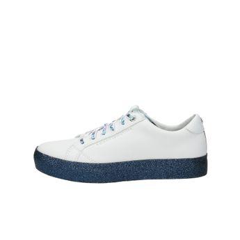 Tommy Hilfiger dámske štýlové tenisky na platforme - biele