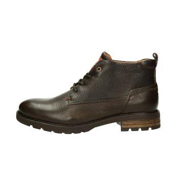 79360e34c0 Tommy Hilfiger pánska kožená členková obuv - hnedá