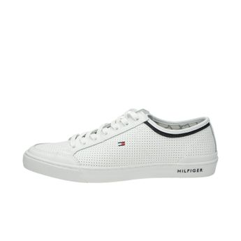 Tommy Hilfiger pánske štýlové pohodlné tenisky - biele