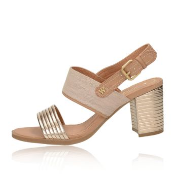 c11e5e87f5 Wrangler dámske štýlové sandále - béžové Wrangler dámske štýlové sandále -  béžové