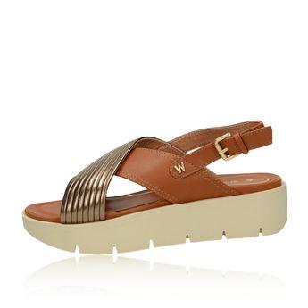 b33ad0a69043 ... Wrangler dámske štýlové sandále s remienkom - koňakové