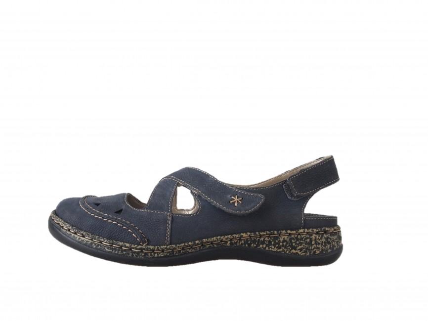 dfdf2f221e9c6 Rieker dámske sandále - modré | 4637914-LAKE www.robel.sk