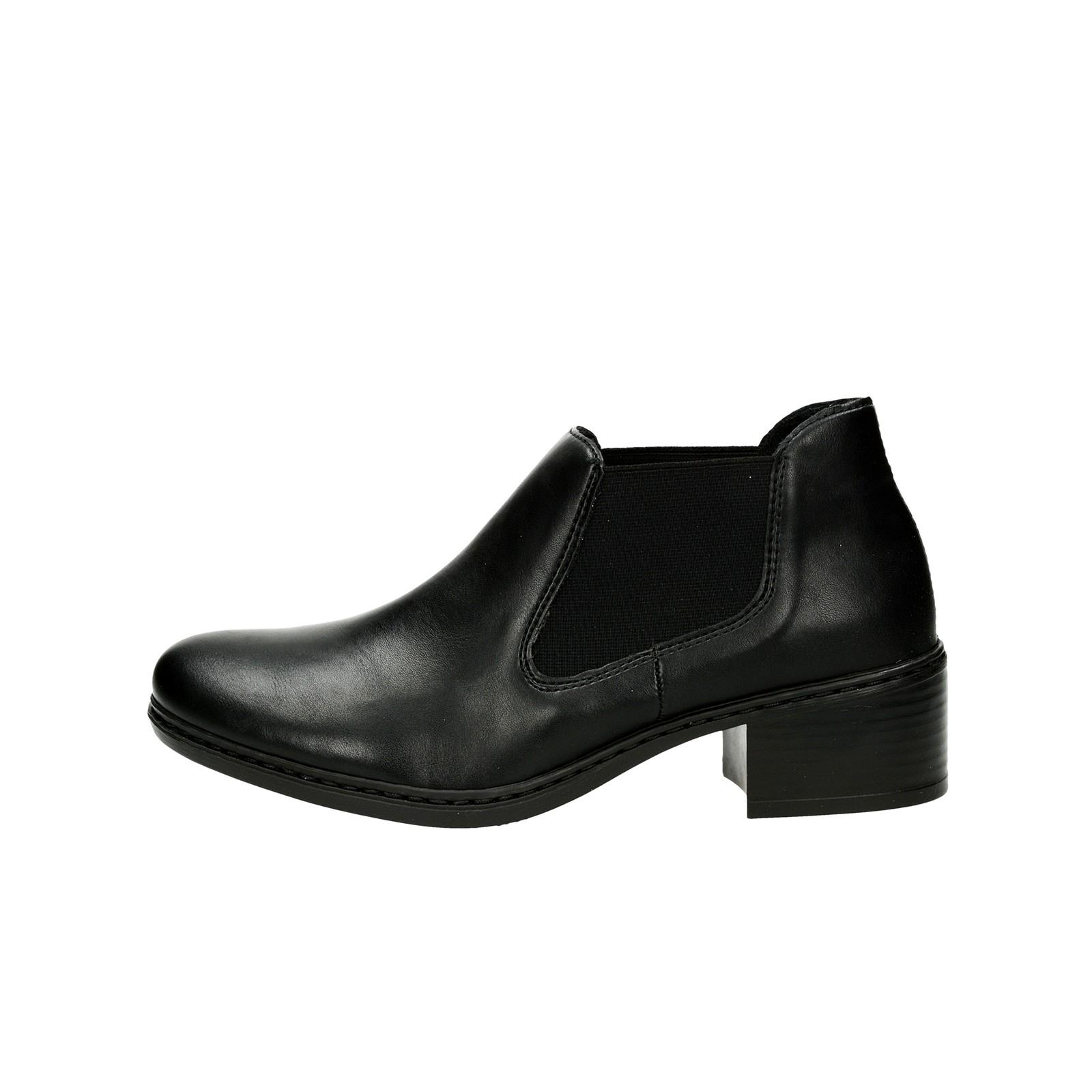 2b5c8971a37b Rieker dámske pohodlné kotníky - čierne Rieker dámske pohodlné kotníky -  čierne ...