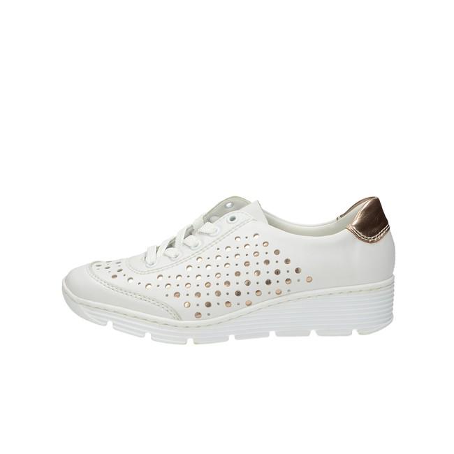 Rieker dámske pohodlné tenisky - biele Rieker dámske pohodlné tenisky -  biele ... de3f188412