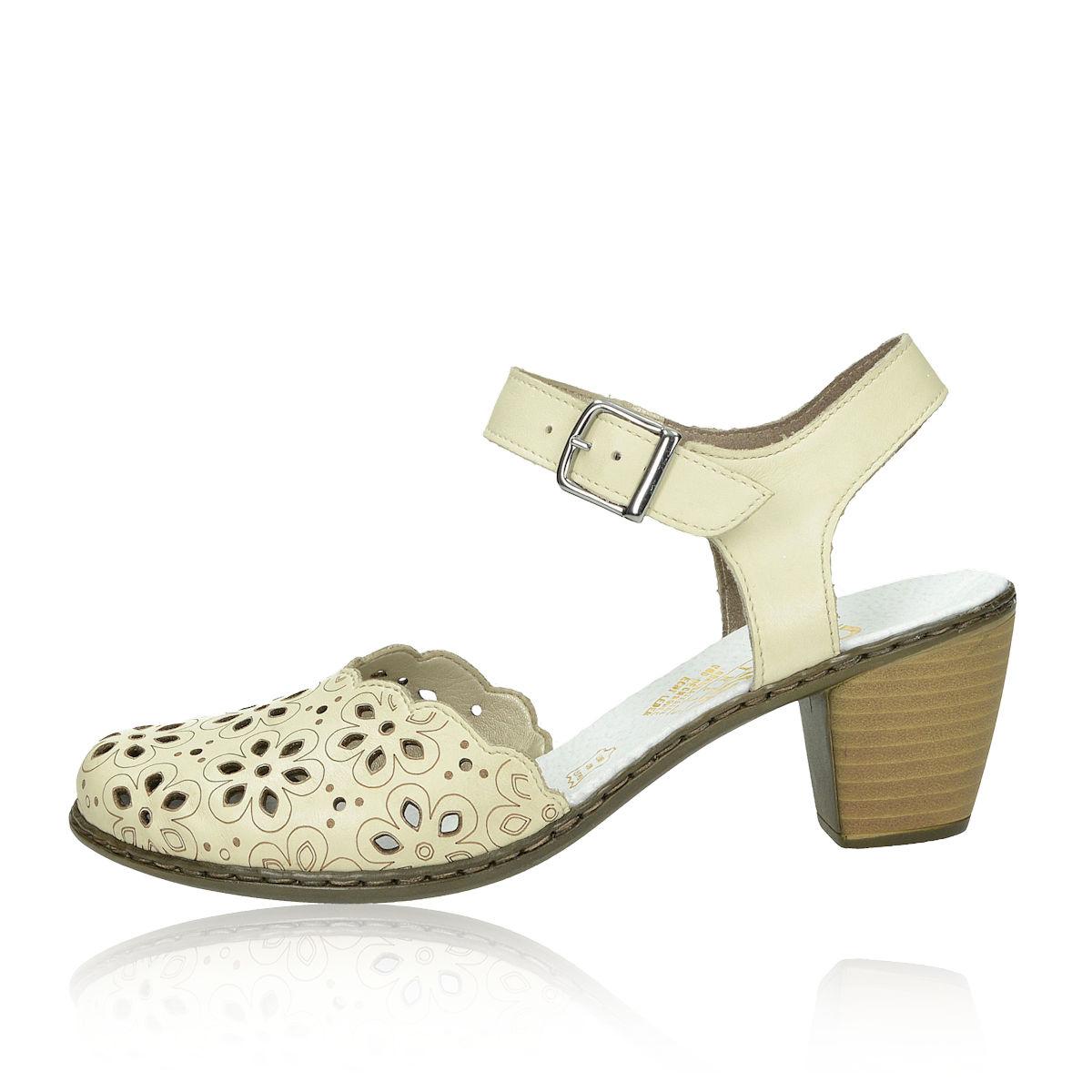 bd70215613f2 Rieker dámske sandále - béžové Rieker dámske sandále - béžové ...
